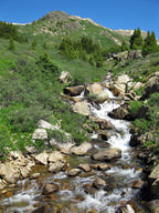 The headwaters of the Roaring Fork River