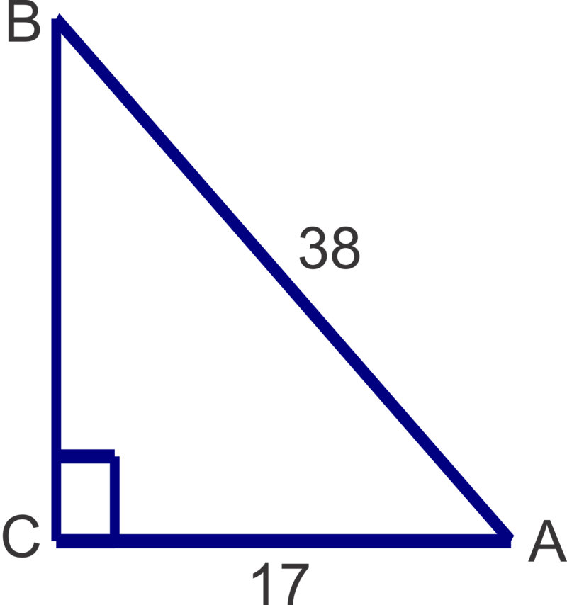 how to solve right triangles using trig functions