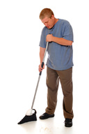Brooms are examples of third class levers