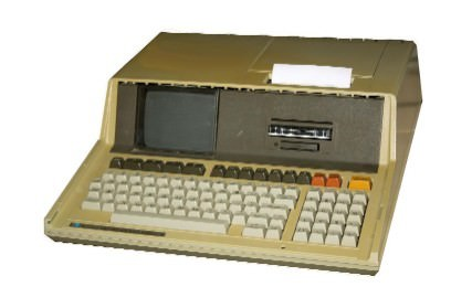 An HB85B computer, manufactured in the early 1980s.