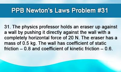 Newton's Law Problem