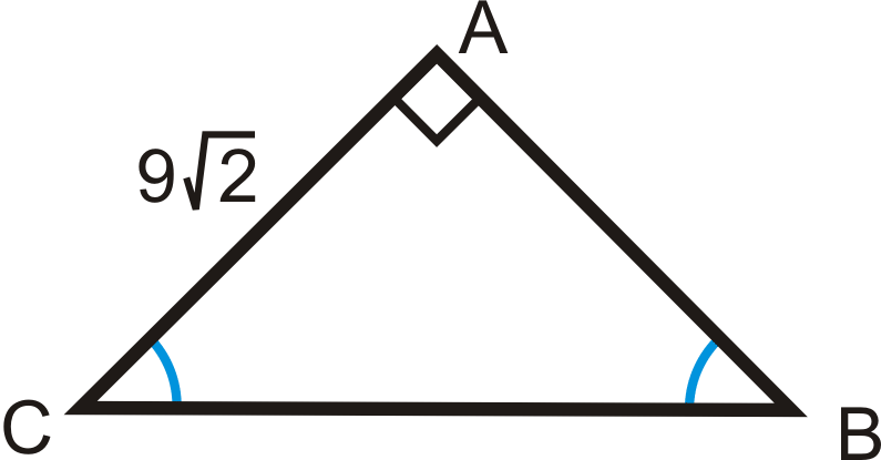 45 45 90 Right Triangles Read Geometry Ck 12 Foundation