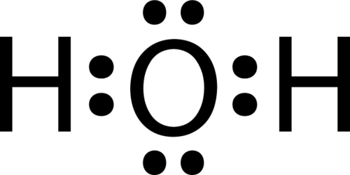 single covalent bonds ck 12 foundation : h2o dot diagram - findchart.co