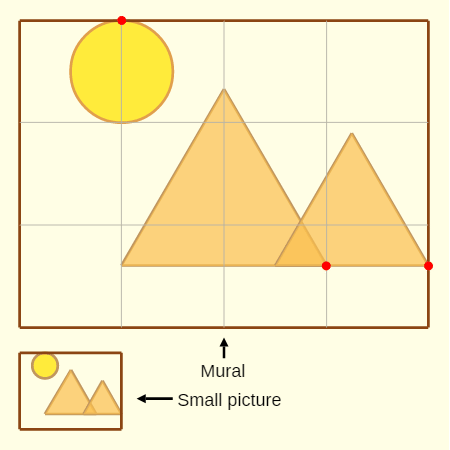 Forms of Ratios: Pyramids Mural