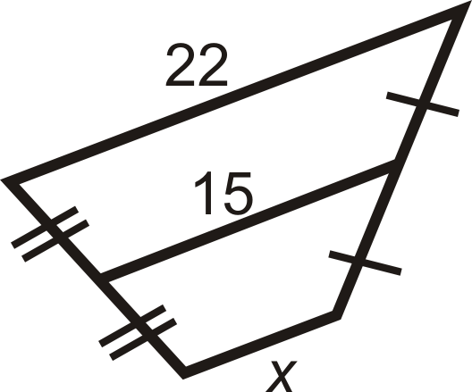 Trapezoids read geometry ck 12 foundation for questions 2 7 find the length of the midsegment or missing side ccuart Choice Image
