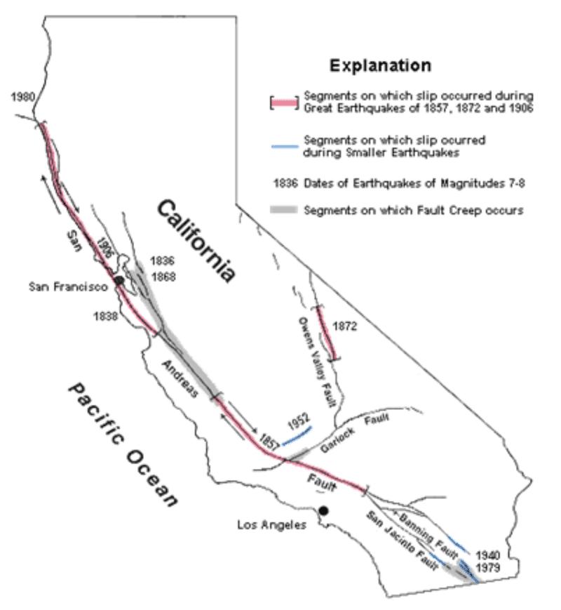 Earthquakes At Transform Plate Boundaries Real World Earth