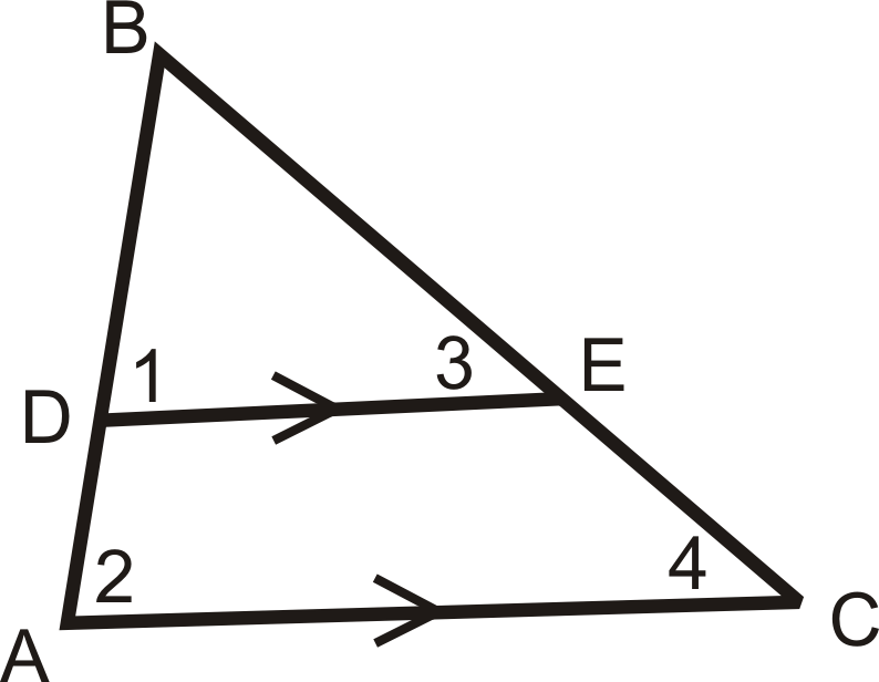 Triangle Proportionality Ck 12 Foundation