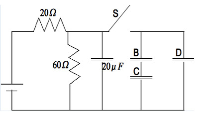 Capacitors Circuits Practice