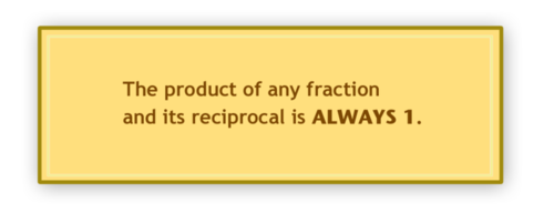 Identification and Writing of Reciprocal Fractions