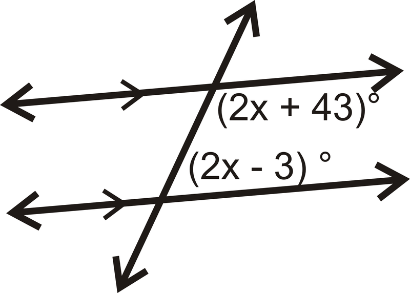 Same Side Interior Angles Read Geometry – Parallel Lines Cut by a Transversal Worksheet