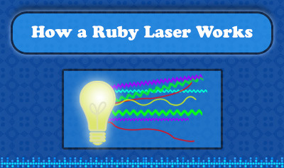 How a Ruby Laser Works