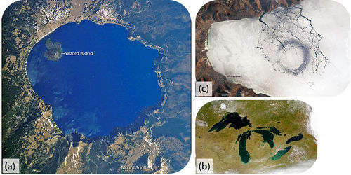 Pictures of Carter Lake, the Great Lakes, and Lake Baikal