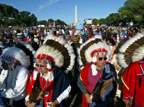 Cheyenne Chiefs lead Native American Gathering Washington, DC