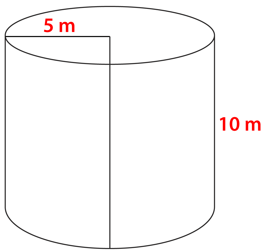 volume of cylinder Volume of a cylinder explined with pictures, diagrams and many exampless.