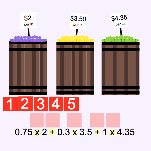 Order of Operations: Barrels of Candy
