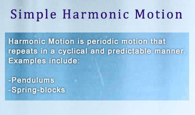 Introduction to Harmonic Motion - Overview