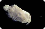 Picture of the asteroid Ida