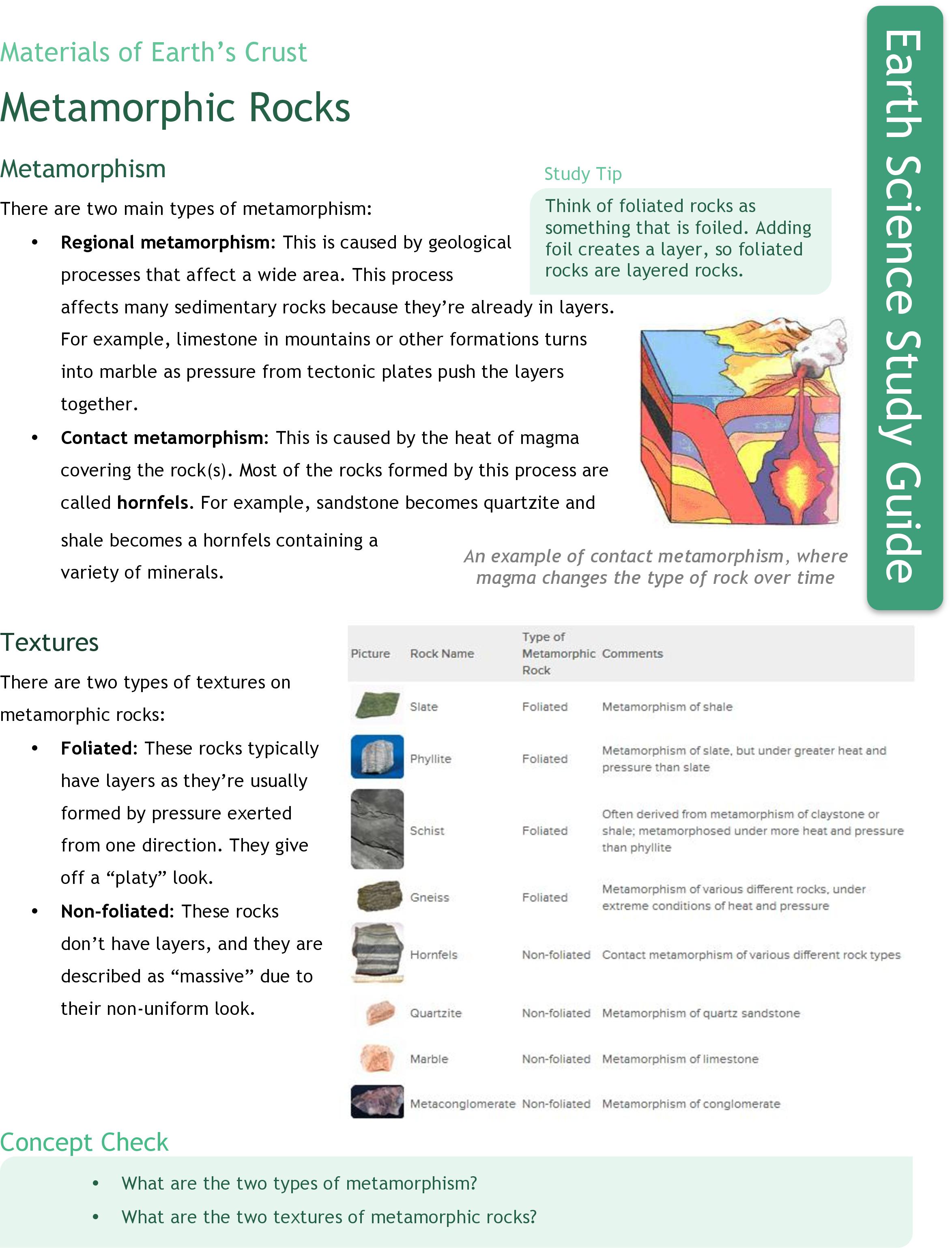 worksheet metamorphic rock worksheet grass fedjp worksheet study site. Black Bedroom Furniture Sets. Home Design Ideas