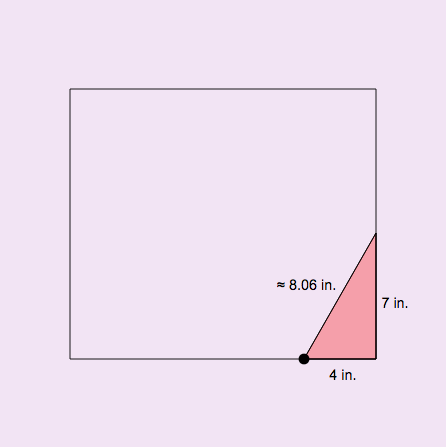 Square Roots and Irrational Numbers: Pythagorean Theorem Tool