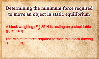 Frictional Force - Example 3