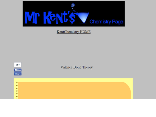 Valence Bond Slideshow and Animation