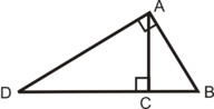 Using Similar Right Triangles