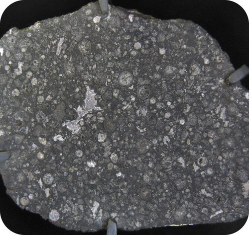 The Allende Meteorite, which is similar to material that made up the earliest solar system