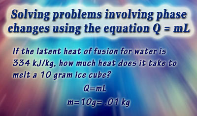 Calorimetry 3: Heat Transfer and Phase Changes - Example 1