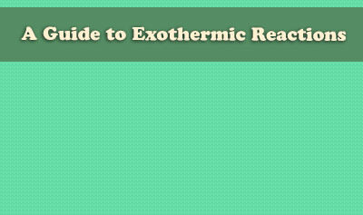 A Guide to Exothermic Reactions