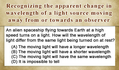 Doppler Effect for EM Waves - Example 2
