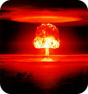 A thermonuclear bomb is an uncontrolled fusion reaction in which enormous amounts of energy are released