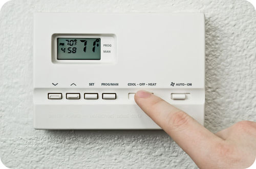 Thermostats help regulate temperature