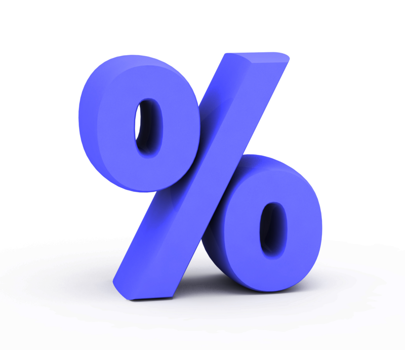 Percent of Decrease