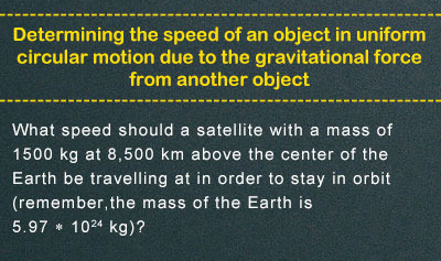 Newton's Law of Gravitation - Example 4
