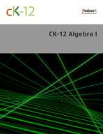 CK-12 Algebra I