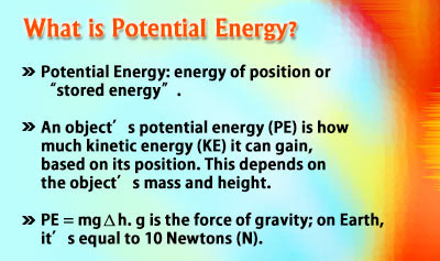 Forms of Energy - Example 2