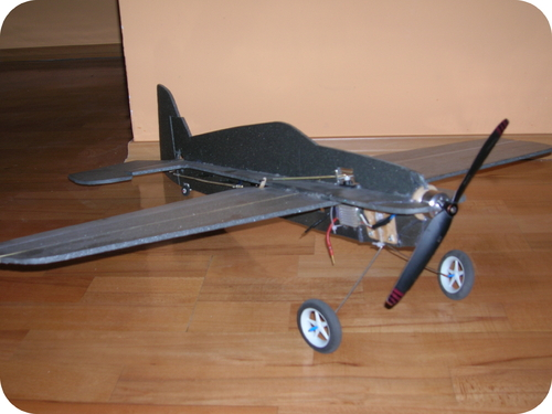 A model airplane