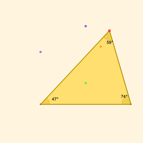 Triangle Classification by Angle
