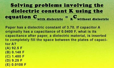 Dielectrics - Example 1