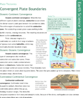 Convergent Plate Boundaries Study Guide