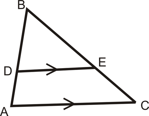 Triangle Proportionality