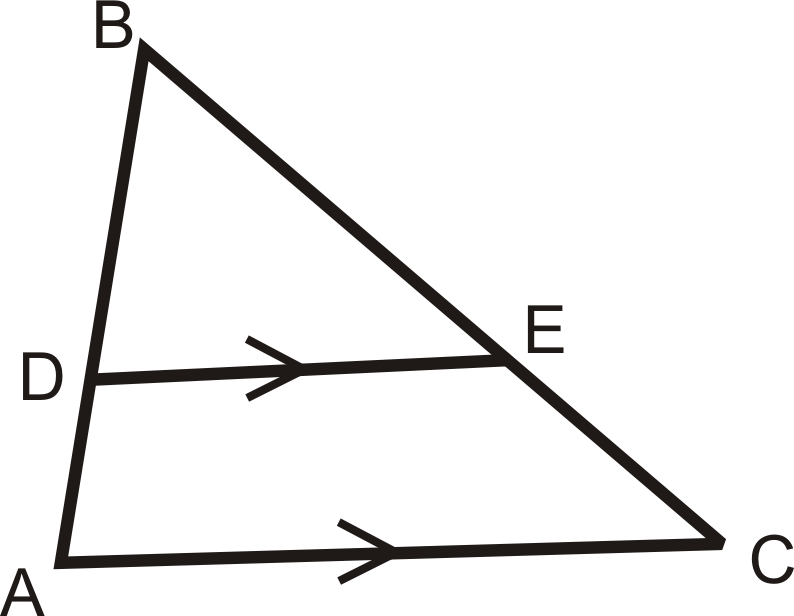 Triangle Proportionality Read Geometry Ck 12 Foundation