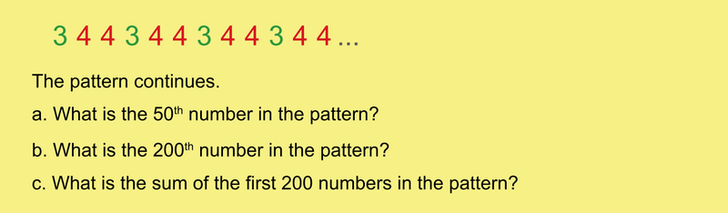 Lines of Numbers