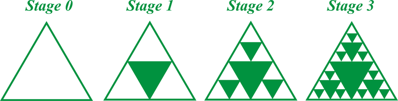 Worksheets Sierpinski Triangle Worksheet self similarity read geometry ck 12 foundation