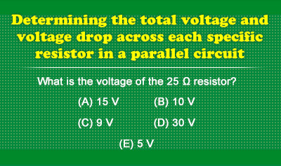 Ohm's Law Problems for Parallel Circuits - Example 1