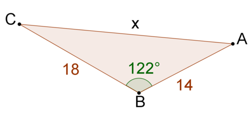 Law Of Cosines Ck 12 Foundation