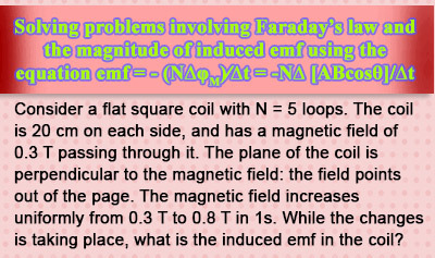 Faraday's Law: Magnitude of Induced Current - Example 2
