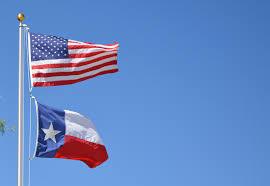 Texas State Flag Illustration