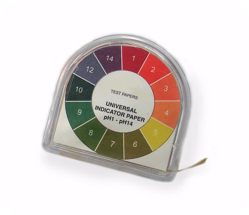 Universal indicator can be used to quickly test the pH of a solution