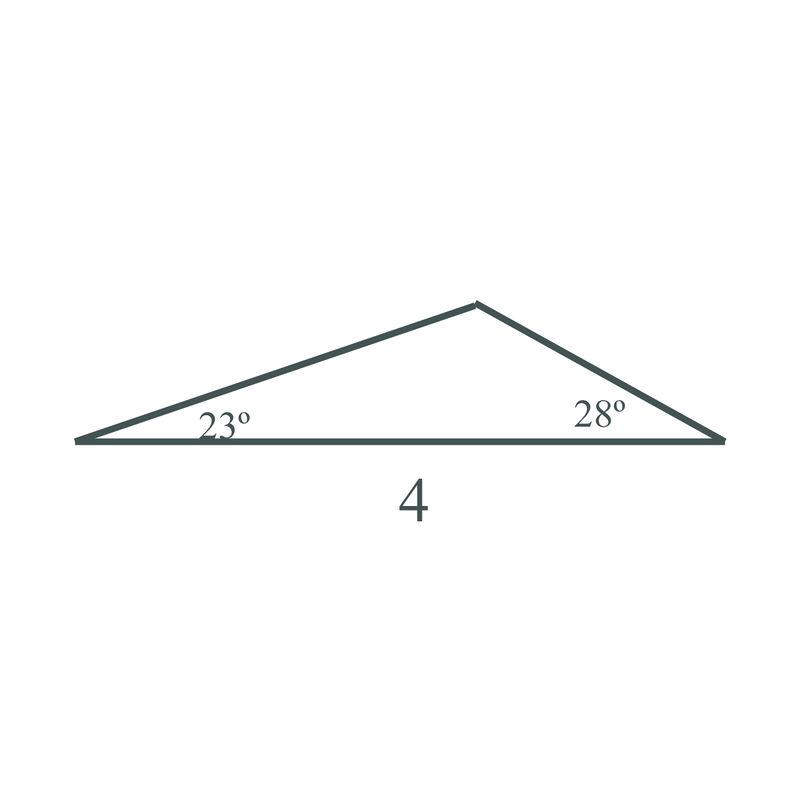 oblique triangle problems with solution trigonometry pdf